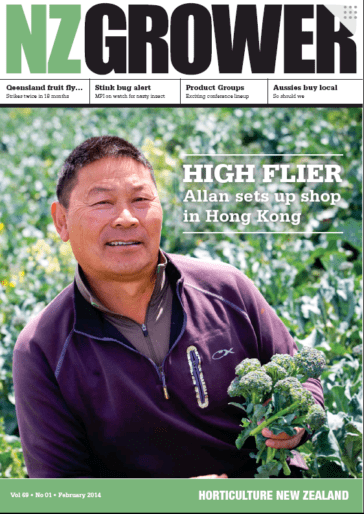 NZ Grower Magazine February 2014