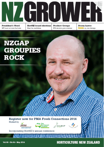 NZ Grower Magazine May 2014