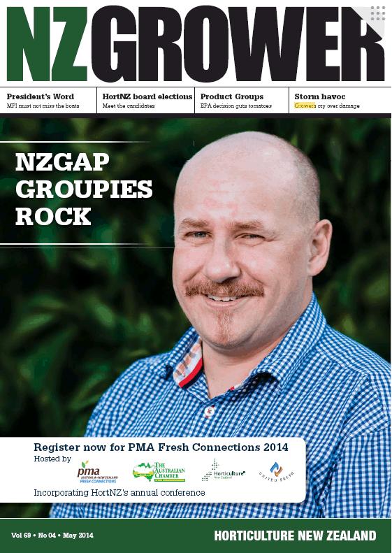 NZ Grower Magazine 2014 – May