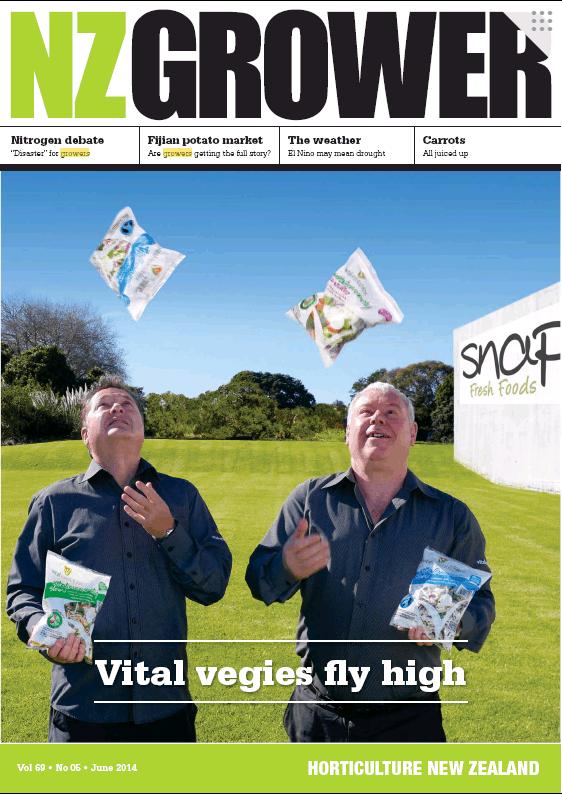 NZ Grower Magazine 2014 – June