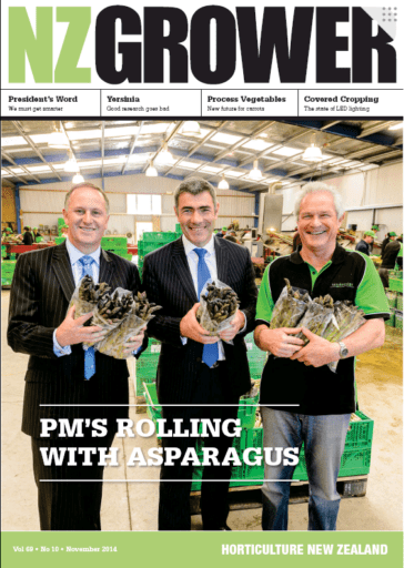 NZ Grower Magazine November 2014