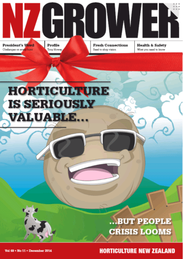 NZ Grower Magazine December 2014