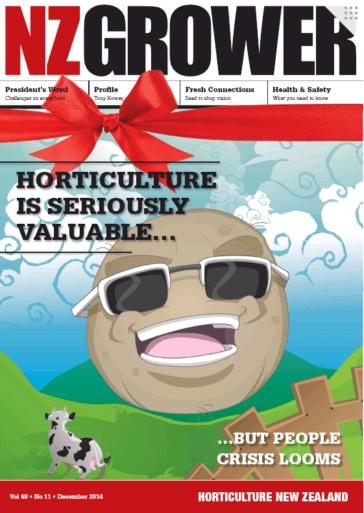 NZ Grower Magazine 2014 – December