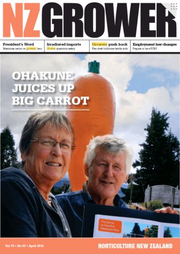 NZ Grower Magazine April 2015