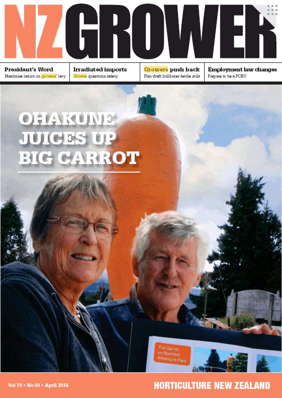 NZ Grower Magazine 2015 – April