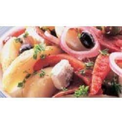 Mediterranean style potato salad