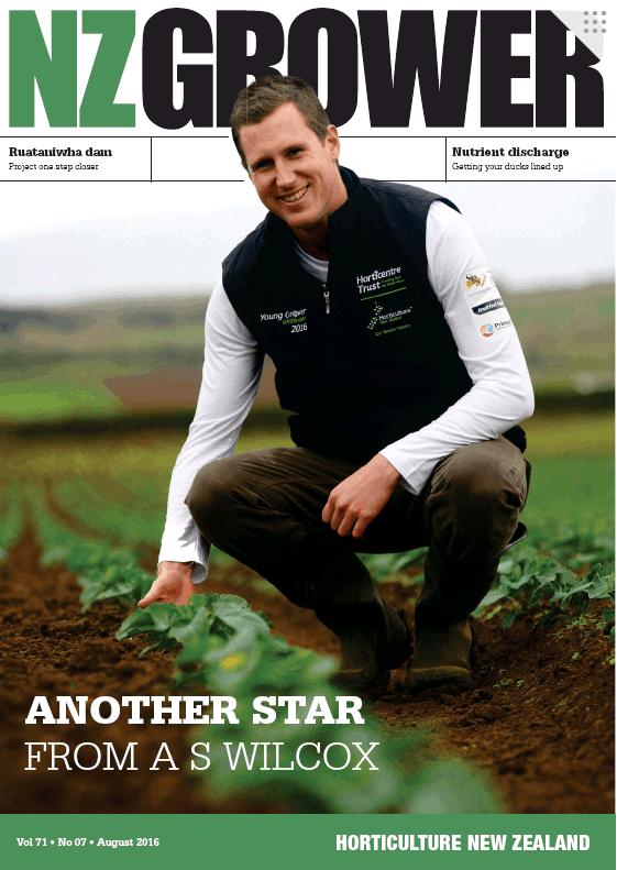NZ Grower Magazine 2016 – August