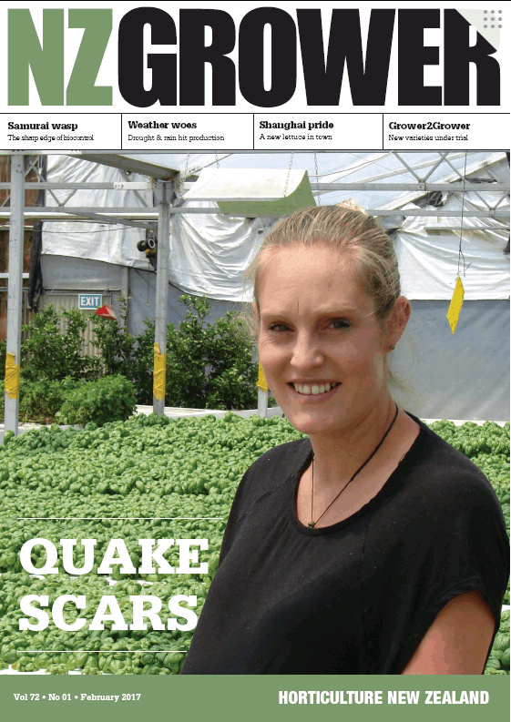NZ Grower Magazine 2017 – February