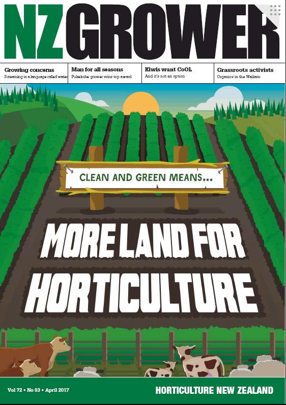 NZ Grower Magazine 2017 – April