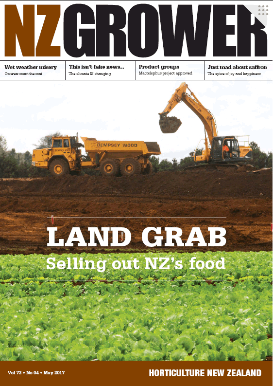 NZ Grower Magazine 2017 – May