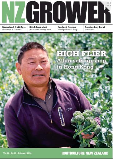 NZ Grower Magazine February 2014