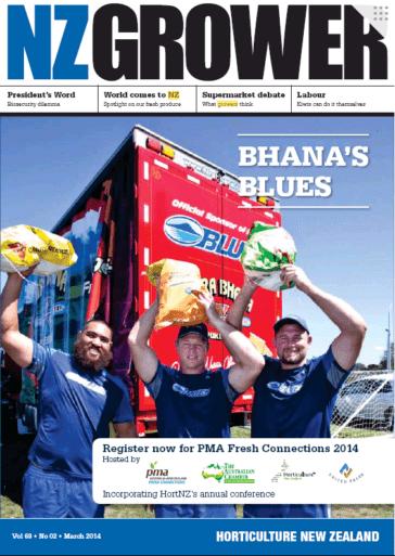 NZ Grower Magazine March 2014