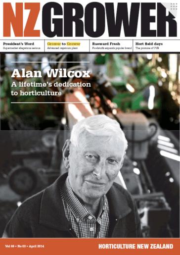NZ Grower Magazine April 2014