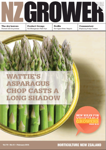 NZ Grower Magazine February 2015